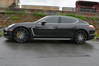 Used 2010 Porsche Panamera Turbo AWD for sale in Vancouver, BC