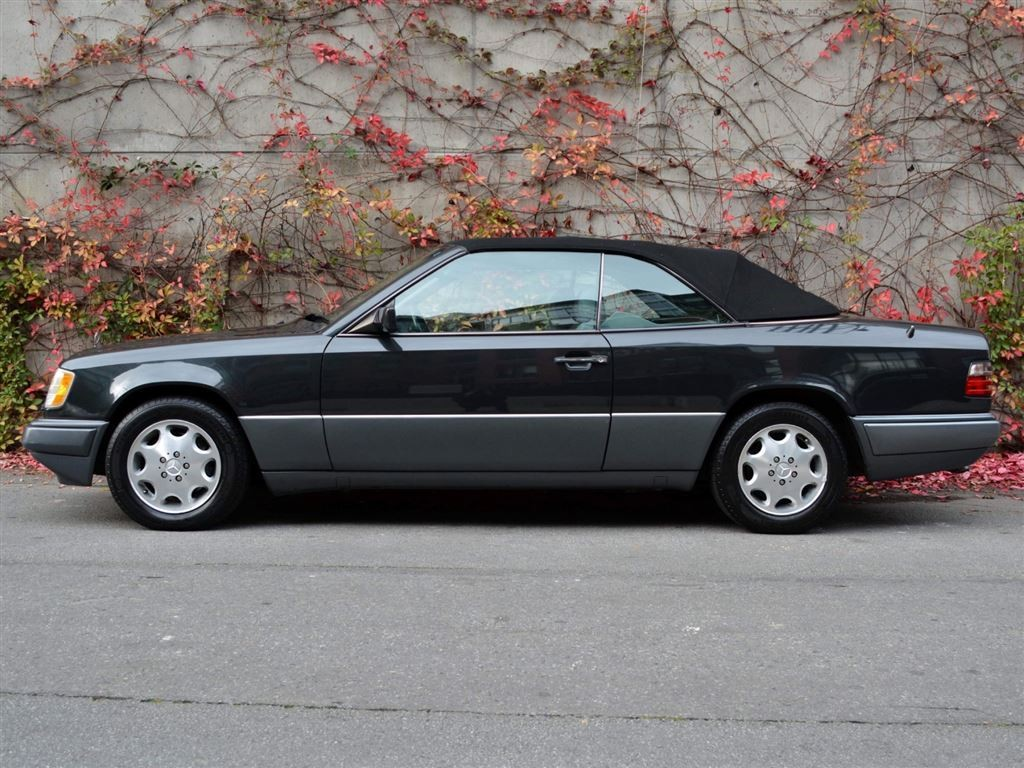 Used 1995 mercedes benz e class e320 convertible for sale for Mercedes benz vancouver bc