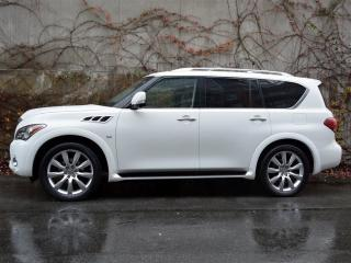 Used 2014 Infiniti QX80 8 Passenger AWD for sale in Vancouver, BC