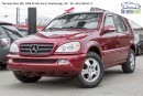 Used 2002 Mercedes-Benz ML-Class 7 Passenger, DVD for sale in Scarborough, ON