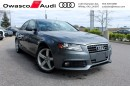 Used 2012 Audi A4 6-Speed TFSI quattro Premium w/ Anti-theft System for sale in Whitby, ON