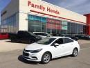 Used 2017 Chevrolet Cruze LT AUTO for sale in Brampton, ON