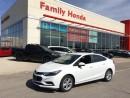 Used 2017 Chevrolet Cruze LT AUTO for sale in Brampton, ON