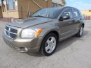 Used 2008 Dodge Caliber SXT 2.0L Automatic Certified 156,000KMs for sale in Etobicoke, ON