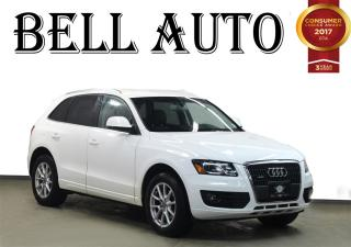Used 2012 Audi Q5 PREMIUM PLUS PUSH START LEATHER for sale in North York, ON