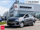 Used 2017 Mitsubishi MIRAGE G4 ES - CVT for sale in Mississauga, ON