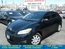 Used 2013 Toyota Matrix Auto All Power/Bluetooth &GPS*$45/wkly for sale in Mississauga, ON