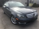 Used 2013 Mercedes-Benz C-Class C300  w/NAVI_BLUETOOTH_LEATHER_SUNROOF for sale in Oakville, ON
