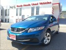Used 2013 Honda Civic LX | H.Seats | B.Tooth for sale in Mississauga, ON