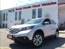 Used 2013 Honda CR-V Touring - navigation- Leather for sale in Mississauga, ON