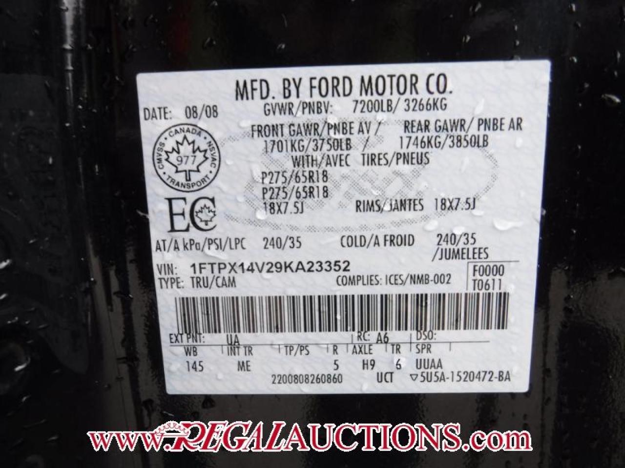2009 Ford F-150 XLT SUPERCAB 4WD