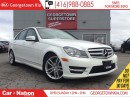Used 2013 Mercedes-Benz C-Class 300 4MATIC | AWD | SUNROOF | 3.5L V6 |LEATHER for sale in Georgetown, ON