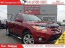 Used 2010 Hyundai Santa Fe GL V6 SPORT| LEATHER| ROOF| CHROME RUNNING BOARDS for sale in Georgetown, ON
