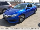 Used 2016 Honda Civic Coupe LX for sale in Kitchener, ON
