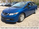 Used 2014 Honda Civic SEDAN LX for sale in Kitchener, ON