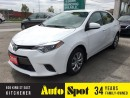 Used 2015 Toyota Corolla LE/BACK UP CAMERA/FULLY LOADED! for sale in Kitchener, ON