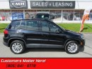 Used 2012 Volkswagen Tiguan - AWD -  NAVIGATION -  LEATHER for sale in St Catharines, ON
