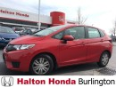 Used 2016 Honda Fit LX for sale in Burlington, ON