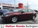 Used 2014 Honda Civic SEDAN LX for sale in Burlington, ON