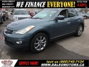 Used 2008 Infiniti EX35 AWD 131KM NAV SUNROOF LEATHER for sale in Hamilton, ON