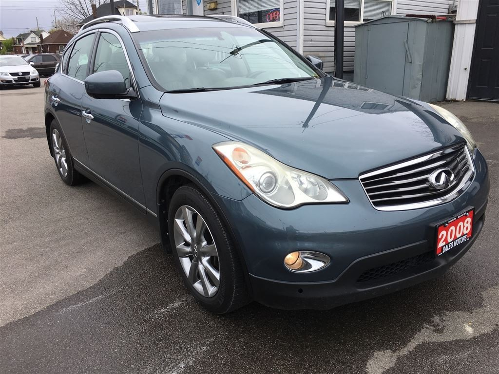 used 2008 infiniti ex35 awd navigation leather for sale in hamilton ontario. Black Bedroom Furniture Sets. Home Design Ideas