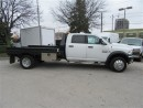 Used 2014 Dodge Ram 5500 HD Crew Cab 4x4 diesel with custom 11 ft flat deck for sale in Richmond Hill, ON