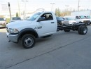Used 2017 Dodge Ram 5500HD 4x4 diesel Cab & Chassis Long wheel base for sale in Richmond Hill, ON