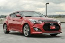 Used 2014 Hyundai Veloster Turbo Low Kilomters, Langley Location for sale in Langley, BC