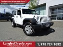 Used 2016 Jeep Wrangler Unlimited Sport W/ 4X4, POWER WINDOWS/LOCKS & U-CONNECT BLUETOOTH for sale in Surrey, BC