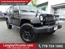 Used 2016 Jeep Wrangler Unlimited Sport ACCIDENT FREE w/ 4X4, U-CONNECT BLUETOOTH & REAR-VIEW CAMERA for sale in Surrey, BC