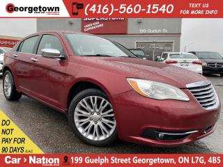 Used 2012 Chrysler 200 Limited | LEATHER | ROOF | HEATED SEATS | BLUTOOTH for sale in Georgetown, ON