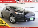 Used 2014 Ford Fusion SE| POWER SEAT| ONE PRICE INTEGRITY| for sale in Burlington, ON