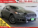 Used 2013 Ford Fusion Titanium| AWD| LEATHER| NAVI| SUNROOF| for sale in Burlington, ON