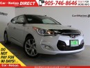 Used 2016 Hyundai Veloster BACK UP CAMERA & SENSORS| TOUCH SCREEN| for sale in Burlington, ON