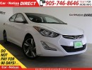 Used 2015 Hyundai Elantra GLS| SUNROOF| BACK UP CAMERA| TOUCH SCREEN| for sale in Burlington, ON
