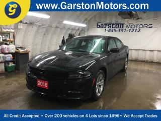 Used 2016 Dodge Charger SXT*Uconnect 8.4-in Touch Screen/SiriusXM/Hands-free/NAVIGATION READY*Remote start system*Hands-free communication with Bluetooth streaming*6 Premium for sale in Cambridge, ON