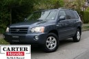 Used 2003 Toyota Highlander V6 LIMITED! + AWD + ONE OWNER + SERVICE RECORDS! for sale in Vancouver, BC