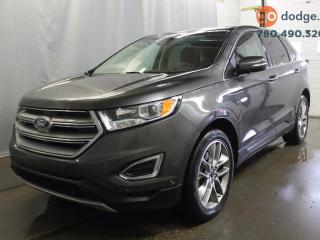 Used 2015 Ford Edge Titanium All Wheel Drive / SUNROOF / LEATHER / REAR BACK UP CAMERA / HEATED AND VENTED FRONT SEATS for sale in Edmonton, AB