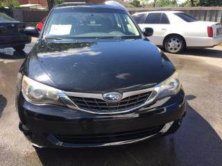 Used 2008 Subaru Impreza 2.5 litre AWD for sale in Etobicoke, ON