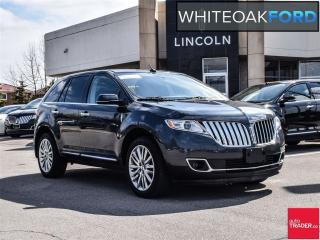 Used 2013 Lincoln MKX one owner, with tech pkg,sight and sound plus for sale in Mississauga, ON