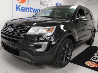 Used 2017 Ford Explorer XLT 4WD with NAV, heated power leather seats, rear climate control, keyless entry, push start/stop, back up cam for sale in Edmonton, AB