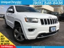 Used 2015 Jeep Grand Cherokee Overland | BLUETOOTH | NAVI | LEATHER | for sale in Burlington, ON