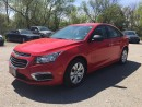 Used 2015 Chevrolet CRUZE 2LS * POWER GROUP * PREMIUM CLOTH SEATING * LOW KM for sale in London, ON