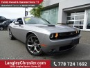 Used 2016 Dodge Challenger SXT EX-DEMO! W/ SUPER TRACK PAK, PERFORMANCE STEERING & PADDLE SHIFTERS for sale in Surrey, BC