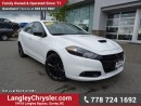 Used 2016 Dodge Dart GT EX-DEMO! W/ NAVIGATION, SUNROOF & REAR-VIEW CAMERA for sale in Surrey, BC