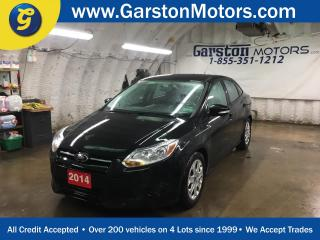 Used 2014 Ford Focus KEYLESS ENTRY*MICROSOFT SYNC*AM/FM//CD/AUX/USB/BLUETOOTH*CLIMATE CONTROL*CRUISE CONTROL*POWER WINDOWS/LOCKS/MIRRORS* for sale in Cambridge, ON
