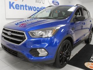 Used 2017 Ford Escape 3 Mos Deferral!||SE 4WD ecoboost with heated power seats, keyless entry and a back up cam for sale in Edmonton, AB
