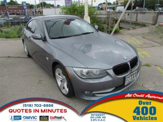 Used 2011 BMW 328 i xDrive | AWD | ROOF | LEATHER | HEATED SEATS for sale in London, ON