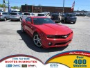 Used 2013 Chevrolet Camaro RS PACKAGE | SUNROOF | LEATHER | SUMMER READY for sale in London, ON