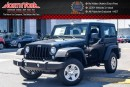 New 2017 Jeep Wrangler New Car Sport 4x4|Hard Top|AC|Trac. Control|AM/FM/CD Player for sale in Thornhill, ON